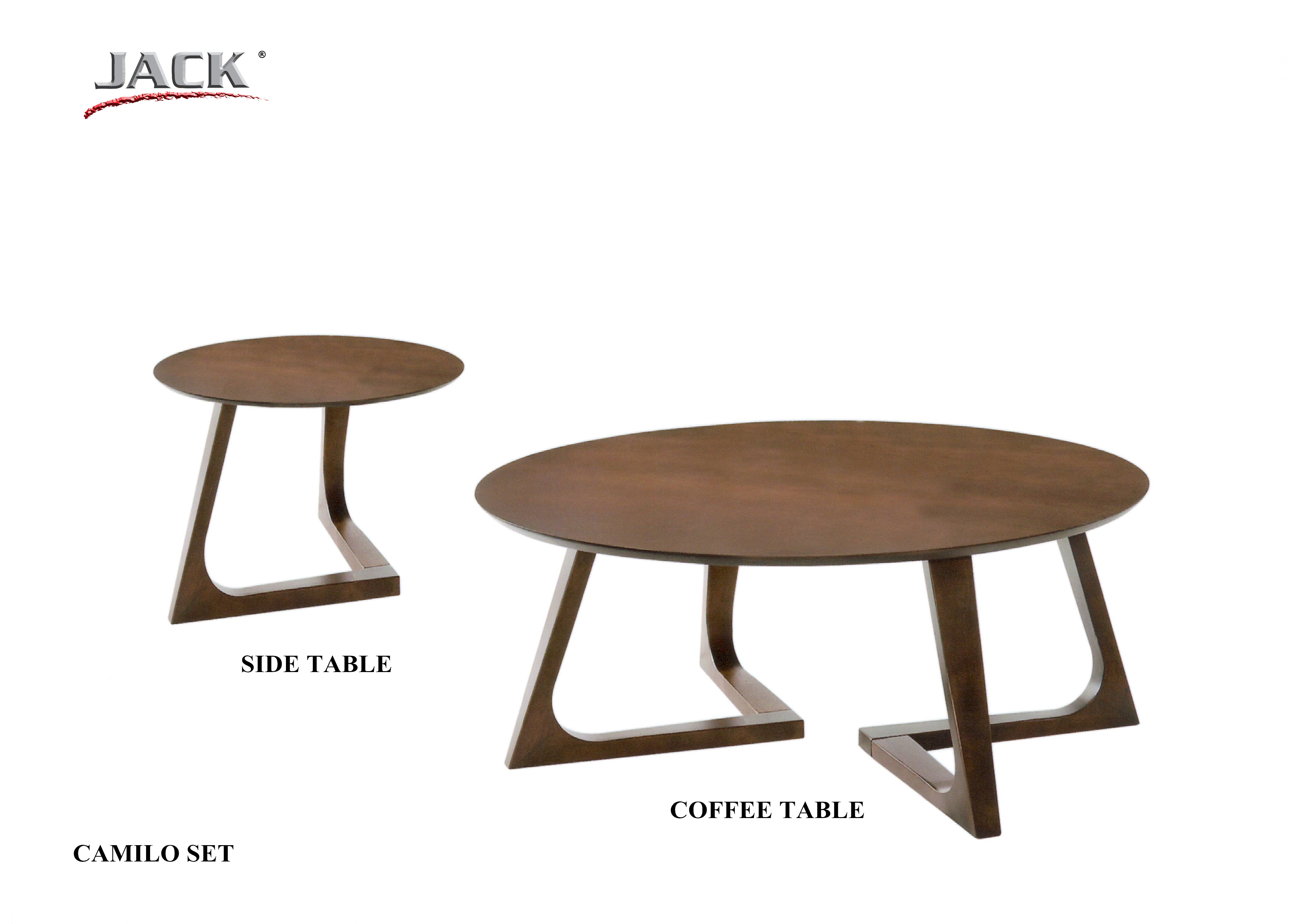 CAMILO COFFEE TABLE & SIDE TABLE